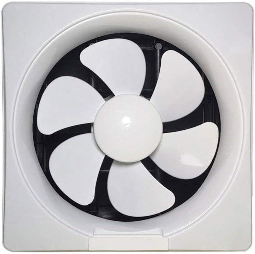 LANDUA Ventilation Fan 6 Inch 8 Inch Exhaust Fan Wall Exhaust Fan Kitchen Powerful Household Silent Bathroom Window Exhaust Fan (Size : 6)