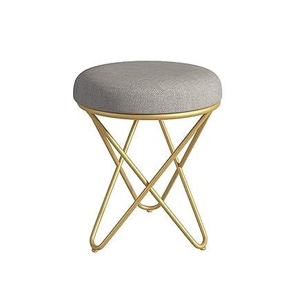 Fabulous Amazon Com Liuxueping Small Round Stool Makeup Stool Spiritservingveterans Wood Chair Design Ideas Spiritservingveteransorg