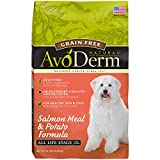 AvoDerm Natural Grain Free Dry Dog Food, Salmon Meal & Potato Formula, 24-Pound