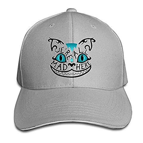 RABBEAT We Are All Mad Here Outdoor Rowing Cotton Caps Hats Adjustable (Attack In Titan Dvd)