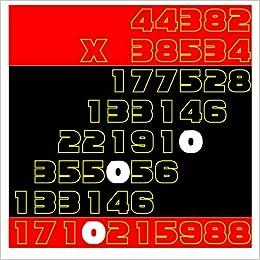Color Multiplication: 44382 x 38534 to 48948 x 26985: Volume 17 (Homeschool Workbook)