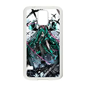 Samsung Galaxy S5 phone case White Hatsune Miku RRTY7508027