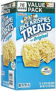 Kellogg's Rice Krispies Treats Rice Krispies Treats - Original - 0.78 oz - 16 ct