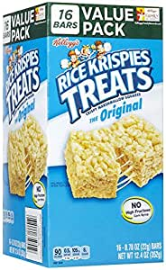 Amazon.com: Kellogg's Rice Krispies Treats Rice Krispies ...