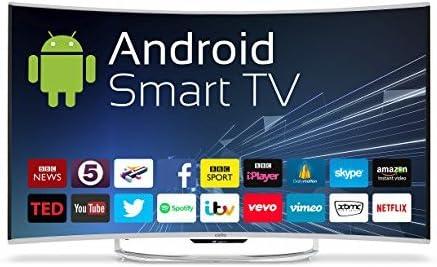 Cello C55ansmt 55-h 4k Android Curva led Inteligente Pantalla de TV con wi-fi y TDT HD t2: Amazon.es: Electrónica