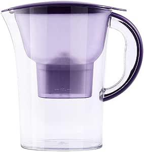 Purificador De Agua Filtro De Carbón Activado Doméstico Botella De Agua Fría Hervidor De Agua Taza De Agua De Cocina Dispensador De Agua Saludable Purificación Calidad Del Agua: Amazon.es: Hogar