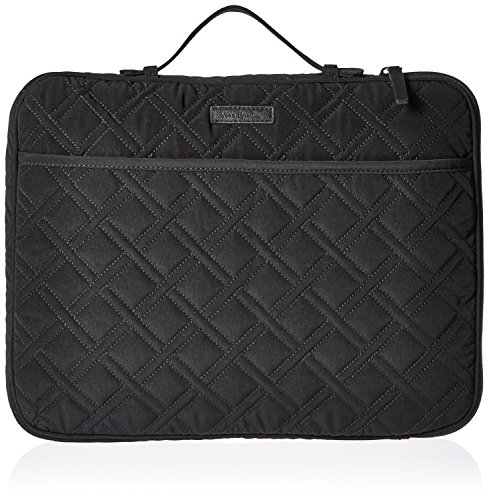 Laptop Vera Bradley - Laptop Organizer Messenger Bag Bag, Classic Black, One Size