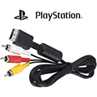 Cabo Av (rca) Áudio E Vídeo Playstation Ps3 Ps2 Ps1