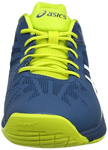 Homme Solution Chaussures Blue Black Jewel Multicolore Ink 3 Tennis Blue Sulphur Spring Speed Gel EU de 5 White 42 White Blu 4501 Asics 5wxz00