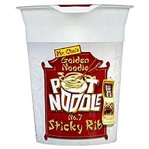 Pot Noodle Mr Chu's Golden Noodle No.7 Sticky Rib Flavour 12 x 90g