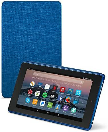 All-New Amazon Fire 7 Tablet Case (7th Generation, 2017 Release), Marine Blue