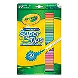 Crayola 50ct Washable Super Tips -