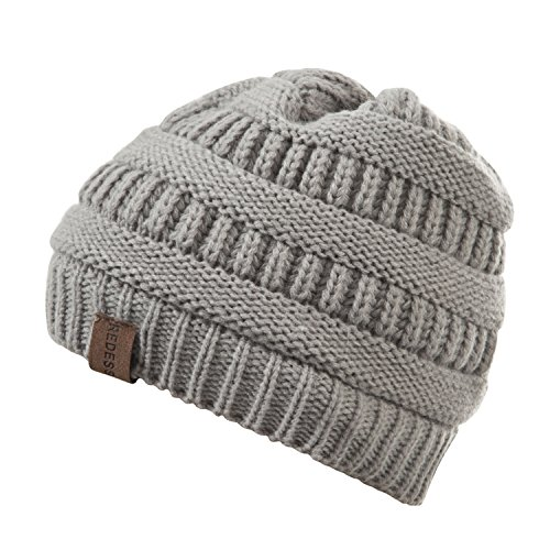 REDESS Baby Boy Winter Warm Fleece Lined Hat, Infant Toddler Kids Beanie Knit Cap for Girls and Boys [0-3years] by REDESS (Image #4)