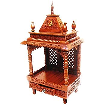 Handcrafted Wooden Home Temple / Wooden Temple / Pooja Mandir / Puja Ghar  /Mandap