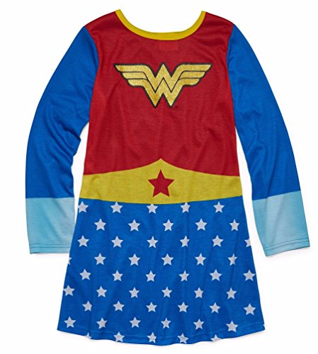 DC Comics Little Girls' Wonder Woman Pullover Nightgown -