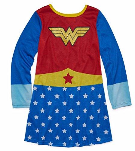 DC Comics Little Girls' Wonder Woman Pullover Nightgown ? ()