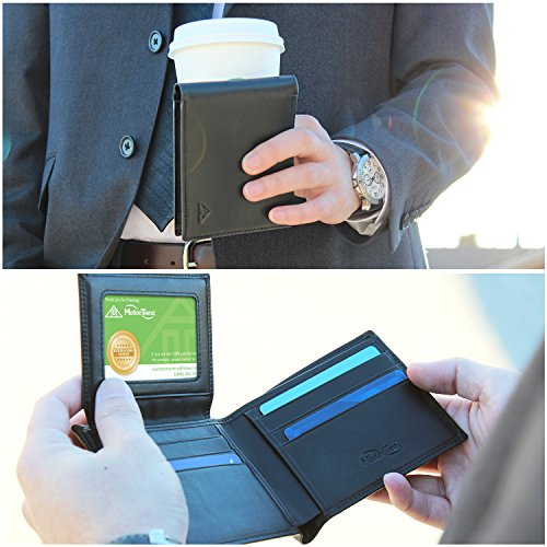 Motion Trend Mens RFID Block Wallet