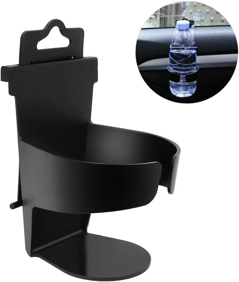 Senzeal Auto Universal Auto Montierter Getränkehalter Steckbares Rack Schwarz Abs Pp Für Flasche Getränkeflasche Wasserglas Kaffeetasse Auto