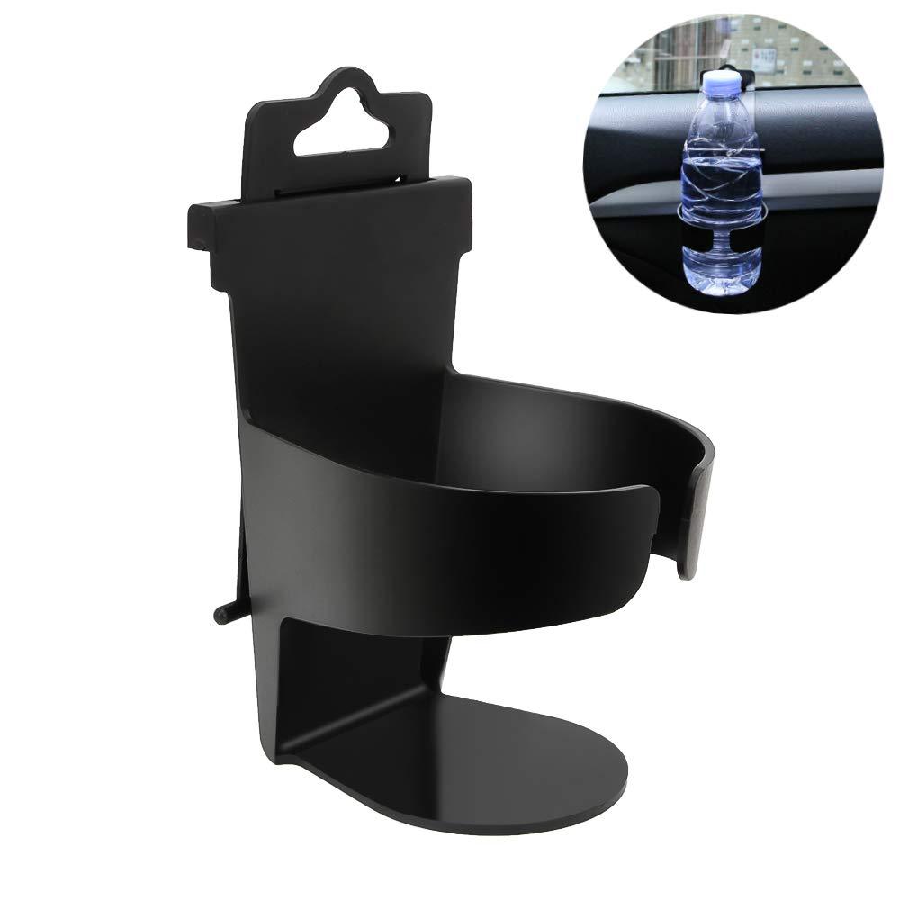 Senzeal Car Beverage Cups Door Hanging Cup Holder Drink Coffee Milk Bottle Cup Mount Vehicle Holder Black