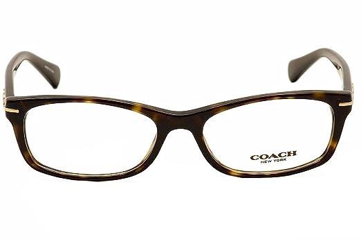 Coach Elise Eyeglasses HC6054 5001 Dark Tortoise 52 16 135 KSRgJUdA