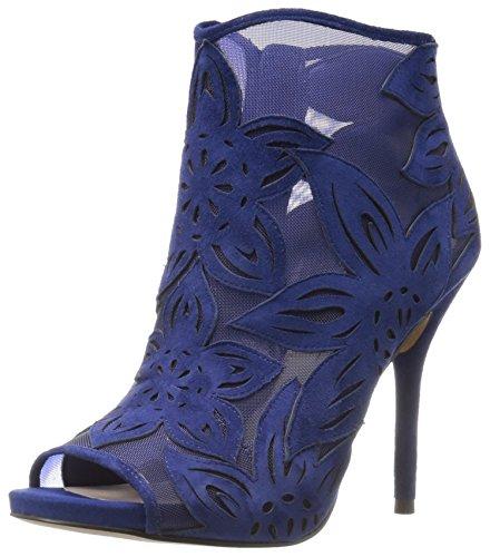 Jessica Simpson Dames Bliths Enkellaarsje Diep Azul