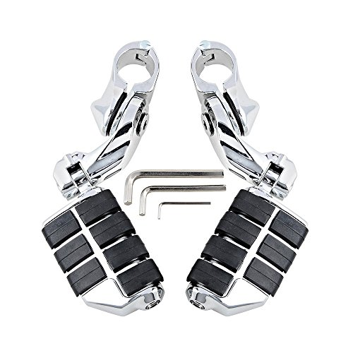 Short Highway Foot Pegs For Harley Electra Road King Street Glide 1-1/4