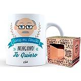 Mr Cool Taza en Caja Regalo en Mensajecomo Mi Abuelo Ninguno Te Quiero, Cerámica, Multicolor, 15x10x5 cm