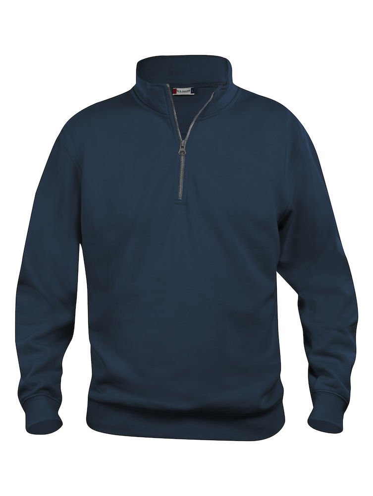 CqC Mens 1/4 Zip Sweatshirt- Quarter Zip Sweater- Plain Colour- No Logo- 7 Colours- S-5XL SG0312D