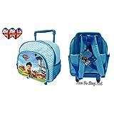 Original Paw Patrol wheeled children`s Bag ,Pull along Bag ,Children`s Luggage