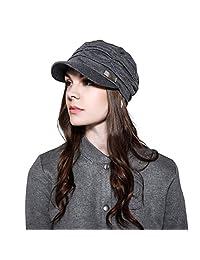 WETOO Women Soft Newsboy Caps Hat for Ladies Cotton Baseball Cap Outdoor Visor Hats