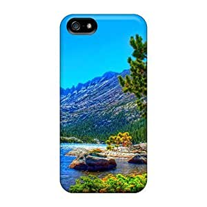 5/5s Scratch-proof Protection Cases Covers For Iphone/ Hot Beauty Along The River Phone Cases