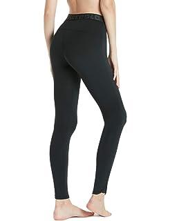 6650595cf TSLA Women's Compression Baselayer Pants Casual Cool Dry Yoga Active  Leggings Tights