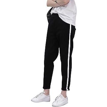 OJJFJ Leotardos Pantalones De Chándal Mujer Pantalones De Harén ...