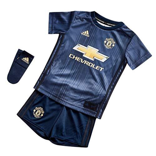 ハンカチ言い訳黒くする2018-2019 Man Utd Adidas Third Baby Kit