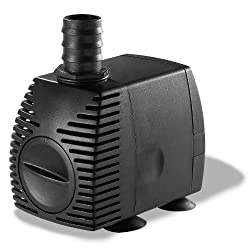 Algreen 200GPH Statuary Fountain Pump for Water Features