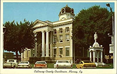 Calloway County Courthouse Murray, Kentucky Original Vintage Postcard