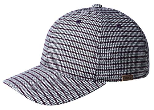 Kangol Men's Pattern Flexfit Baseball Cap HAT, Houndstooth Check, S/M