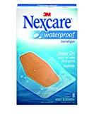 Product review for Nexcare Waterproof Bandages, Large, Knee and Elbow, Moist Wound Healing Environment, Seals Out Water, Dirt, Germs, Ideal for Sports and Exposure to Water, 48 Bandages (6 Packs of 8 Each)