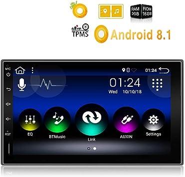 Amazon.com: Wisess - Radio estéreo para coche Android 8.1 ...
