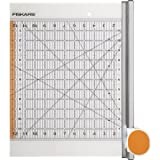 Fiskars Rotary Ruler Combo for Fabric Cutting, 12-Inch by 12-Inch