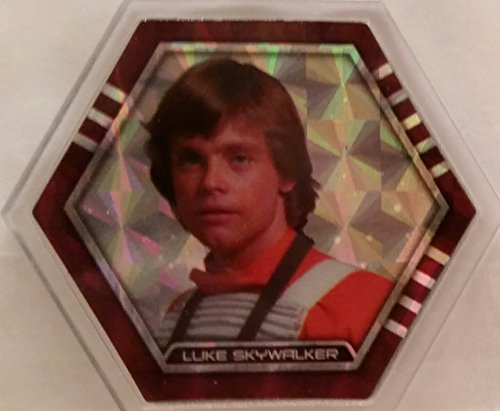 Star Wars Galactic Connexions - Luke Skywalker - Clear/Pattern Holographic Foil - Rare