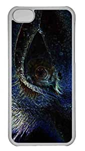 Customized iphone 5C PC Transparent Case - Eye 3 Personalized Cover by heywan