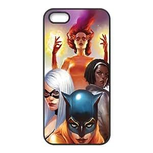 Marvel Women Comic iPhone 4 4s Cell Phone Case Black present pp001_9574996