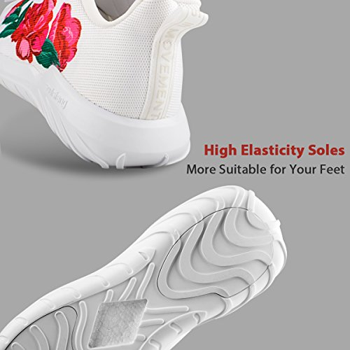 Fashion Breathable and Lightweight Women Sneakers Shoes Soulsfeng Flyknit Shoes Running Women 4W1Tnawq