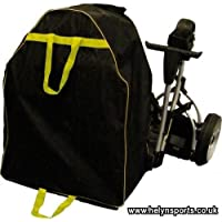 Electric Golf Trolley Coverall Black