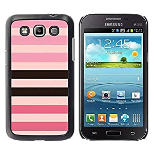 PC/Aluminum Funda Carcasa protectora para Samsung Galaxy Win I8550 I8552 Grand Quattro line pattern pink purple black equals / JUSTGO PHONE PROTECTOR