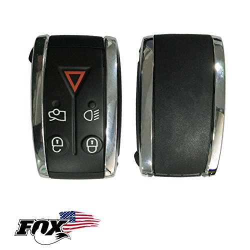 Jaguar 5 Button Remote Controll Key Shell FOB by Jaguar