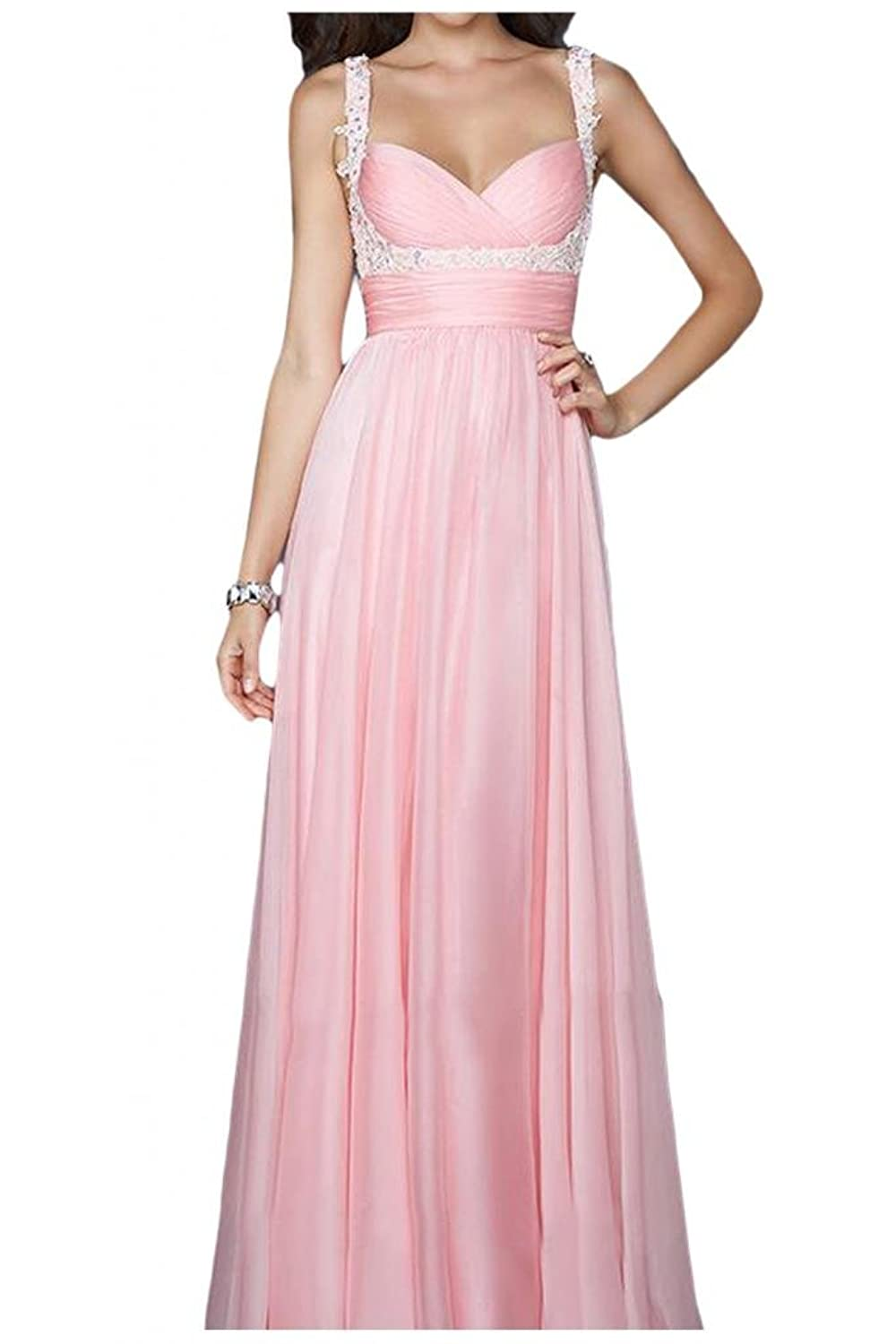 Gorgeous Bride Empire Sweetheart Long Evening Dresses Bridesmaid Dresses