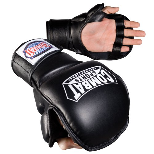 Combat Sports MMA Sparring Gloves (Mma Striking Training Gloves)