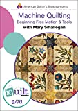 Machine Quilting: Beginning Free Motion & Tools - Complete iquilt Class